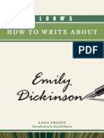 How to write about Emily Dickinson por A Priddy