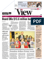 The Belleville View front page 1/3/2013