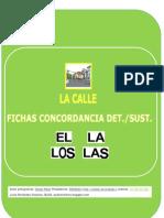 ESTRUCTURA DE FRASES UD. LA CALLE (ARTÍCULO/SUSTANTIVO)