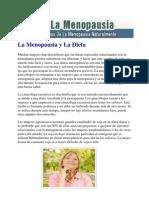 La Menopausia y La Dieta