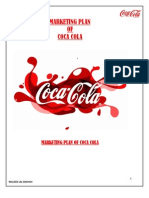 30250774 Coca Cola Marketing Report WALEED