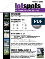 Sale Catalog - HOTSPOTS Advertising Deadline