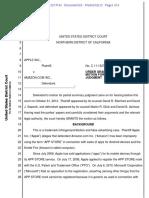 Apple vs. Amazon Trademark Case