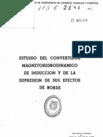 Convertidor Magnetohibrido de induccion
