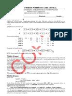 Examen Estructuras de datos