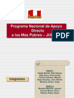 Programa Juntos políticas y desarrollo