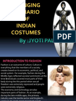 Scenario of Indian Costumes