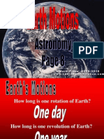 Earth Motions