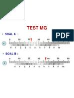 TEST MG 0,02