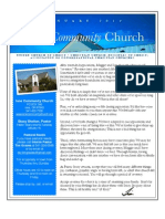 Newsletter of Ione Community Church - January 2013