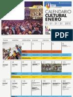 Calendario Lima Cultura - Enero