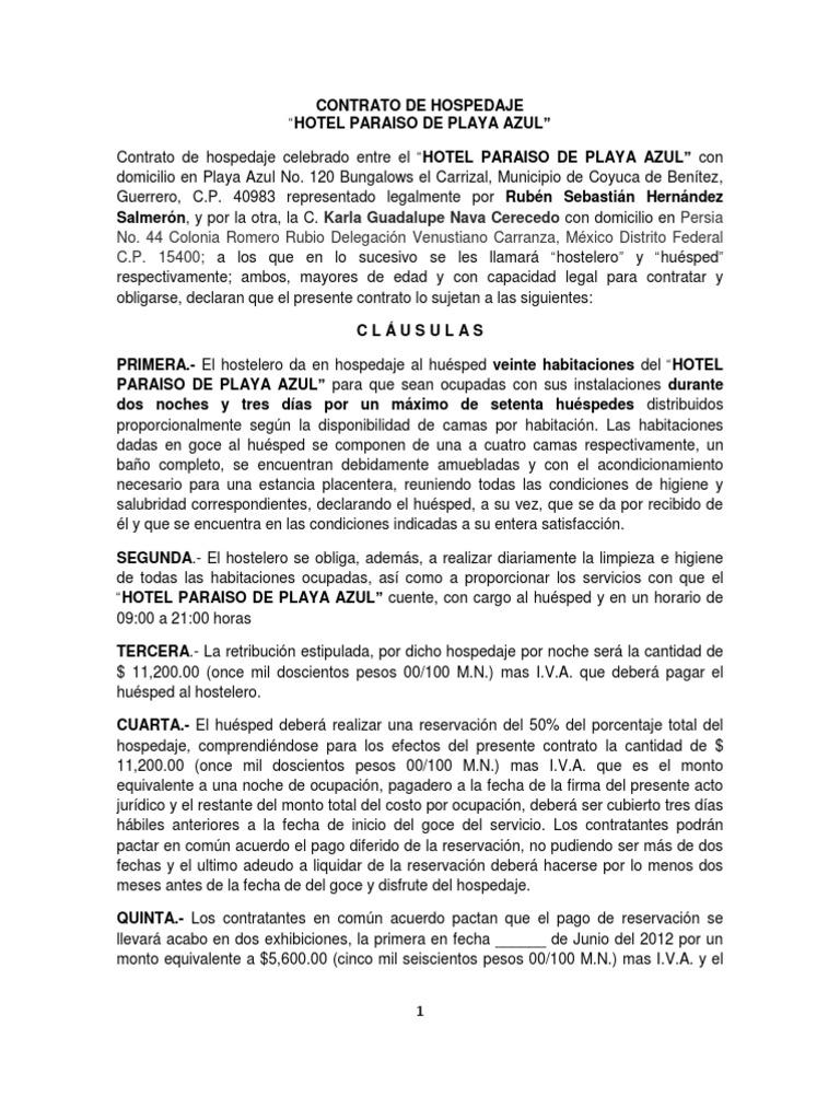 Moderno Ejemplo De Reanudación Del Servicio De Limpieza Del Hotel ...