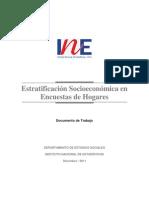 INE; Estratificacion  socioeconomica encuestas hogares.pdf