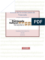 COCINA CACERA VENEZOLANA TOMO 3