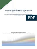 American Social Spending in Perspective