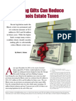 Gifts to Reduce Illinois Estate Taxes