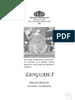 Guia de Lenguaje I