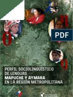 Perfil Sociolingüístico de Lenguas Mapuche y Aymara en la Región Metropolitana