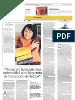 Entrevista a Sofia Rodríguez