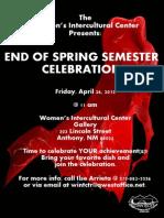 4-26-13 End of Semester Celebration