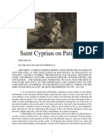 Saint Cyprian on Patience