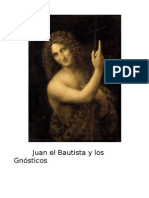 Juan El Bautista y Los Gnosticos