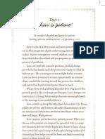 The Love Dare - Day 1