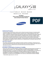 Galaxy S III English User Manual Jelly Bean UVLJA F6
