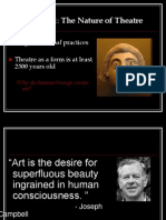 Chapter 1 the Nature of Theatre Discussion (1)