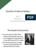Quantum Probes of Matter