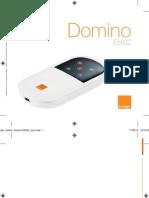 Guide utilisateur orange domino E5832