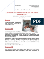 The Italian Memorandum - November Report 2012