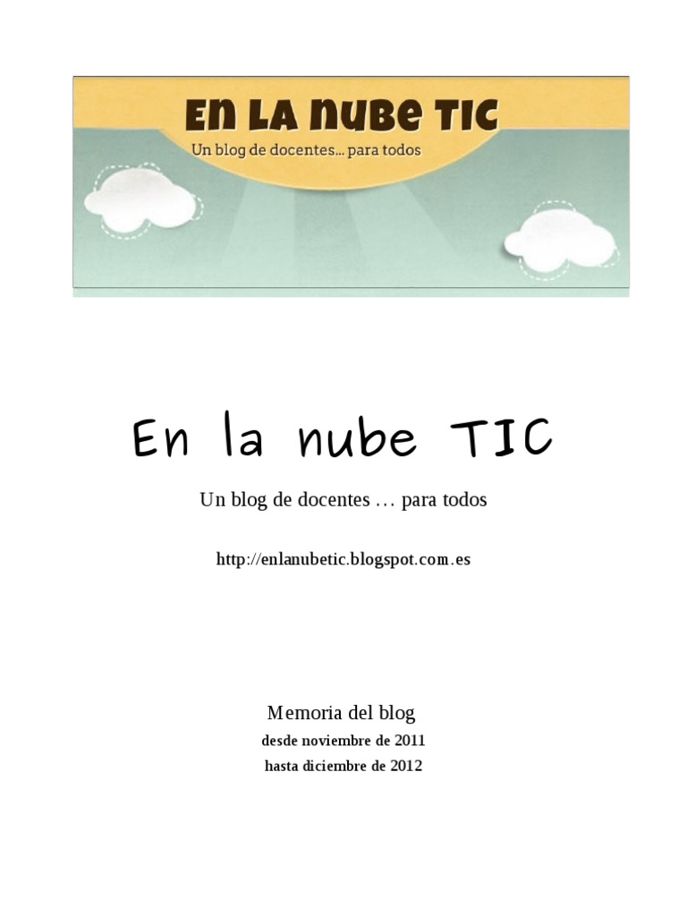En la nube TIC