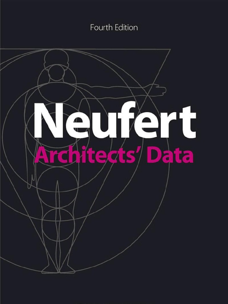 Neufert Architects Data Fourth Edition