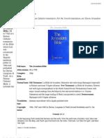 Jerusalem Bible - Wikipedia, The Free Encyclopedia