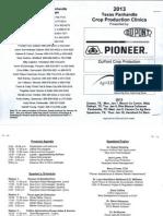 2013 Official Program