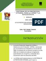 presentacion sobre doctrina de proteccion integral de la adolescencia El Salvador
