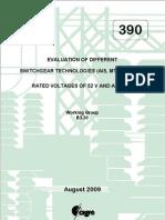Evaluation of different switchgear technologies AIS MTSGIS