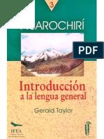 INTRODUCCIÓN AL QUECHUA
