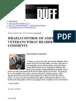 Israeli Control of America