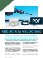 Reductor de Velocidad Taladro