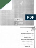 Protocolo operacional Cesarea ESSALUD 1994