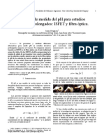 Medición de PH y Fibra Optica