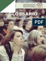 Glossario - Lessico della differenza