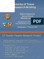 FAA Research Briefing