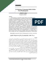Ammonium sulfate (ZA)
