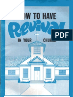 How To Have Revival In Your Church by W. V. Grant, Sr