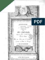 Sinfonie Périodique in C major, Ignaz Fränzl