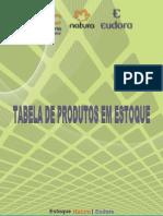 Tabela de Produtos Em Estoque