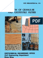 GEO PUB 1/93 - Review of Granular and Geotextile Filters
